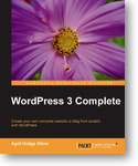 The cover of WordPress 3 Complete book