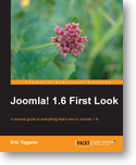 "La copertina del libro ""Joomla! 1.6 First Look"""